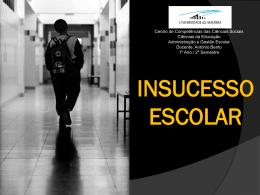 Insucesso Escolar