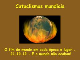 Cataclismos mundiais