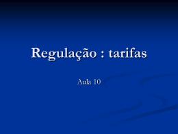 Dir_reg_econ_aula_10 - Acadêmico de Direito da FGV