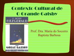 O Grande Gatsby - literaturacinema