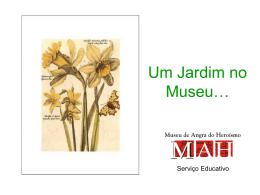 Notícias dos trabalhos da Horta Pedagógica e do Jardim