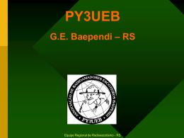 Conhecendo PY3UEB - ARAUCARIA DX GROUP