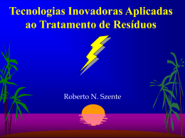 Tecnologia de Plasma Térmico para o Meio Ambiente