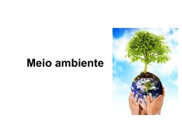 Meio ambiente - alcidineiageografia