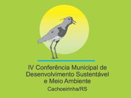 IV Conferência Municipal de Meio Ambiente