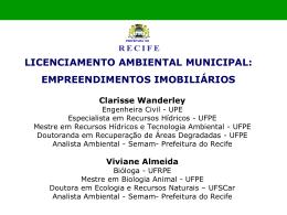 licenciamento ambiental municipal: empreendimentos