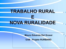 As Novas Perspectivas do Meio Rural Brasileiro