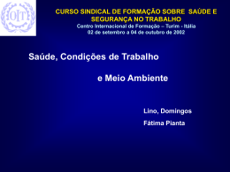 Slide 1 - training.itcilo.it