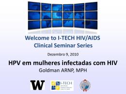 HPV em mulheres infectadas com HIV