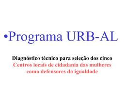 mulheres - Centro de Documentación del Programa URB-AL