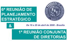 Book Comercial 6ª Reunião de Planejamento Estratégico e 1ª