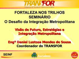 estratégias seinf - Empresa de Transporte Urbano de Fortaleza