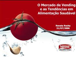 O Mercado de Vending e as Tendências em Alimentação Saudável