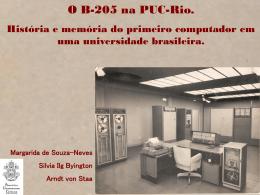 Apresentação SHIALC 2012 - PUC-Rio
