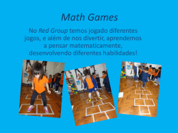 Math Games - be. Living
