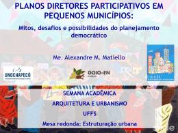 Os desafios à participação popular no planejamento urbano de