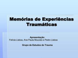 Memórias de Experiências Traumáticas