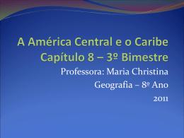 America Central e Caribe - 8 ano