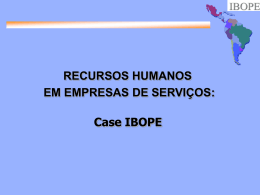 Case IBOPE