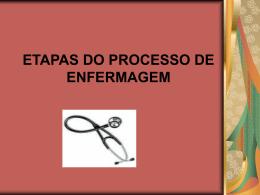 etapas do processo de enfermagem