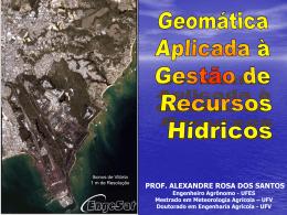 sistemas sensores - Mundo da Geomatica