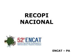 RECOPI Nacional
