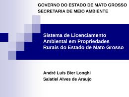 O Sistema de Licenciamento Ambiental em Propriedades Rurais