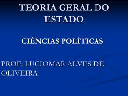teoria geral do estado ciências políticas