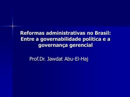 O DASP (Departamento Administrativo do Serviço Público) - TCE-RO