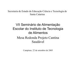 Secretaria de Estado da Educação Ciência e Tecnologia de Santa