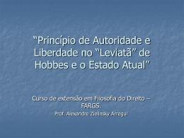 apresentação do Professor Alexandre Zielinsky Arregui