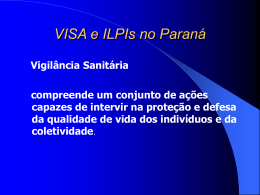 ILPIs no Estado do Paraná