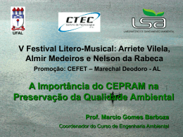 cepram - Universidade Federal de Alagoas