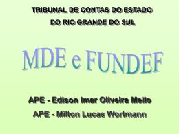 Estado do Rio Grande do Sul Tribunal de Contas
