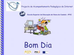 Apresentação Power Point - Projecto PAPI05