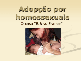 Convenção Europeia em matéria de adopção de crianças