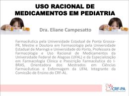 Uso Racional de Medicamentos em Pediatria