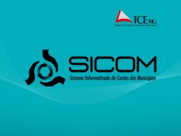 Treinamento SICOM-Apresentação