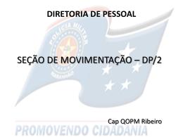 APRESENTAÇÃO SEÇÃO DE MOVIMENTO DP2
