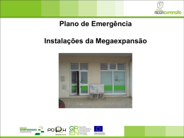 5. Descrição das instalações