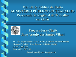 PALESTRA Aprendizagem - Ministério Público do Estado do