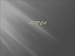 em África (a sul do Sara)