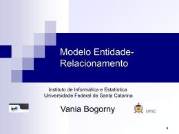 Modelo Entidade-Relacionamento - Departamento de Informática e