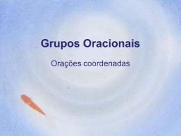 Grupos Oracionais