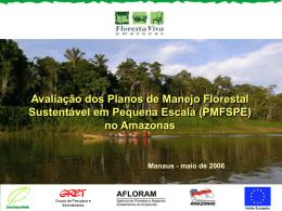 (PMFSPE) no Amazonas