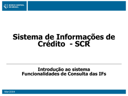 Cliente 1 - Banco Central do Brasil
