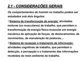 Ergonomia e segurança industrial – cap. II - Neri dos Santos