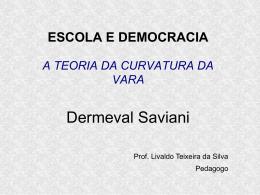 A Escola Nova não é democrática