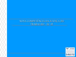 DT_II_Nova_Competencia - Acadêmico de Direito da FGV