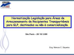 Portaria DNC 27/ 96 x NBR 15.514 – Área de Armazenamento para